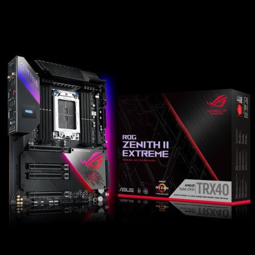 ASUS ROG Zenith II Extreme - AMD - sTRX4 - AMD Ryzen - DDR4-SDRAM - DIMM - 4733, 2133, 2400, 2666, 2800, 3400, 3733, 3800, 4133, 4266, 4333, 4400, 4600 MHz (90MB12C0-M0EAY0)