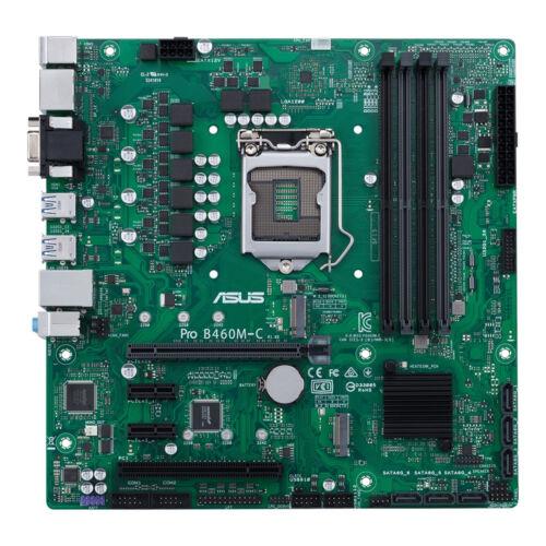 ASUS PRO B460M-C/CSM Intel B460 LGA 1200 Micro ATX (90MB13S0-M0EAYC)