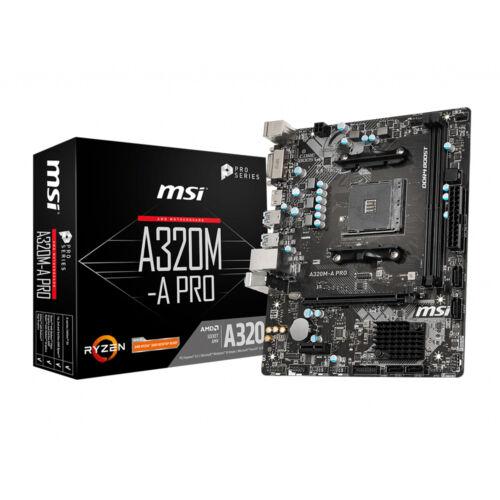 MSI A320M-A PRO alaplap AMD A320 AM4 foglalat Micro ATX (A320M-A PRO)