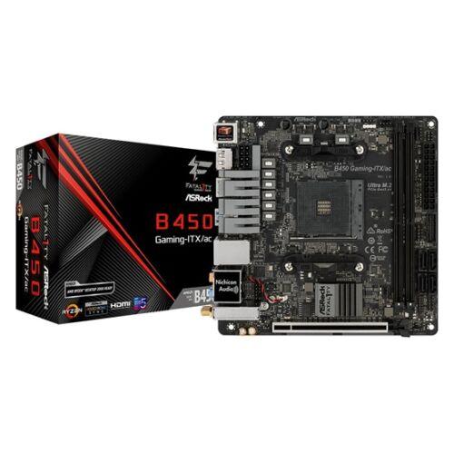 ASRock sAM4 B450 FATAL1TY GAMING-ITX/AC (B450 GAMING-ITX/AC)