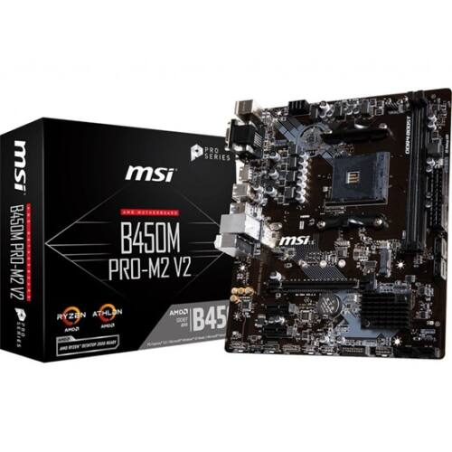 MSI sAM4 B450M PRO-M2 (B450M PRO-M2)