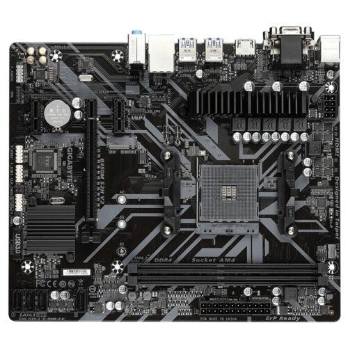Gigabyte GiBy B450M S2H v2 B450 - Motherboard - AMD Socket AM4 (Ryzen) (B450M S2H V2)