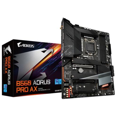Gigabyte B560 AORUS PRO AX alaplap Intel B560 LGA 1200 ATX (B560 AORUS PRO AX)