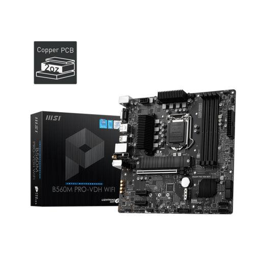 MSI B560M PRO-VDH WIFI alaplap Intel B560 LGA 1200 Micro ATX (B560M PRO-VDH WIFI)