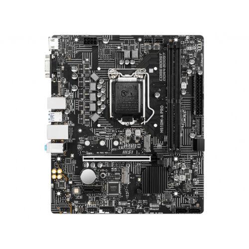 MSI H510M-A PRO alaplap Intel H510 LGA 1200 Micro ATX (H510M-A PRO)