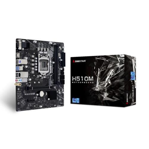 Biostar H510MH/E 2.0 Intel H510 LGA 1200 Micro ATX (H510MH/E2.0)
