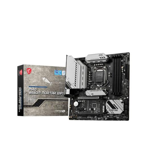 MSI MAG B560M MORTAR WIFI alaplap Intel B560 LGA 1200 Micro ATX (MAG B560M MORTAR WIFI)
