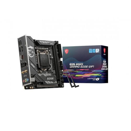 MSI MPG B560I Gaming Edge WIFI Intel B560 LGA 1200 mini ATX (MPG B560I GAMING EDGE WIFI)