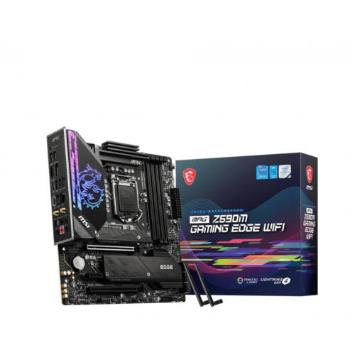 MSI MPG Z590M Gaming Edge Wifi Intel Z590 LGA 1200 Micro ATX (MPG Z590M GAMING EDGE WIFI)