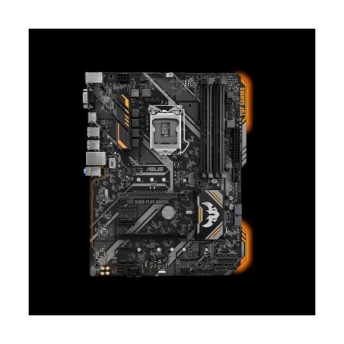 ASUS Alaplap S1151 TUF B360-PLUS GAMING INTEL B360, ATX (TUF B360-PLUS GAMING)