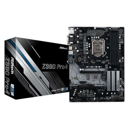 ASRock Z390 Pro4 - Intel - LGA 1151 (Socket H4) - Intel® Celeron® - Intel® Core™ i3 - Intel Core i5 - Intel Core i7 - Intel® Pentium® - 95 W - DDR4-SDRAM - DIMM (90-MXB6T0-A0UAYZ)