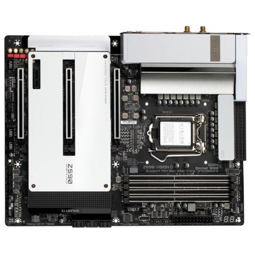 Gigabyte Z590 VISION D alaplap Intel Z590 Express LGA 1200 ATX (Z590 VISION D)