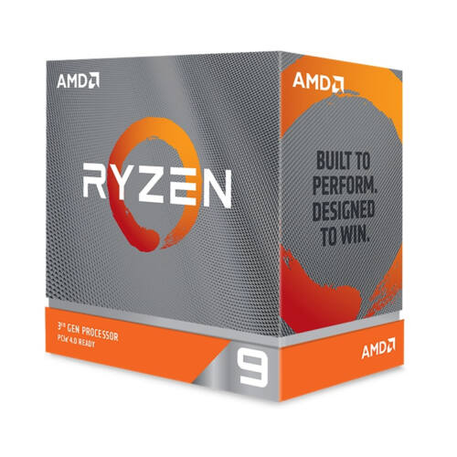 AMD Ryzen 9 3900XT - 3rd Generation AMD Ryzen 9 - 3.8 GHz - Socket AM4 - PC - 7 nm - AMD (100-100000277WOF)