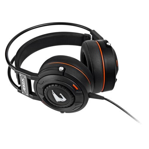 Gigabyte AORUS H5 - Headset - Head-band - Gaming - Black - Binaural - 3 m (9JAORUSH5-00-10)