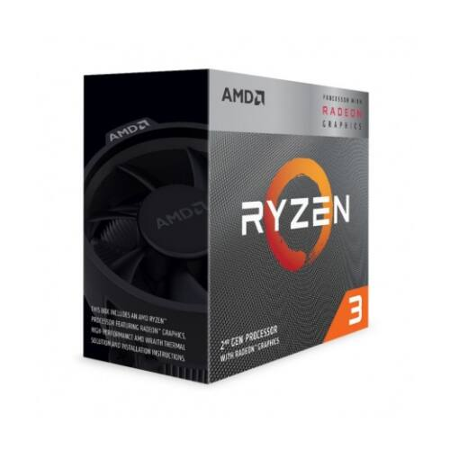 AMD Ryzen 3 3200G Box AM4 (4,000GHz) YD3200C5FHBOX incl. Wraith Stealth Cooler (YD3200C5FHBOX)