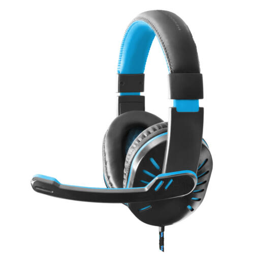 ESPERANZA HEADPHONES FOR GAMERS WITH MICROPHONE CROW BLUE (EGH330B)