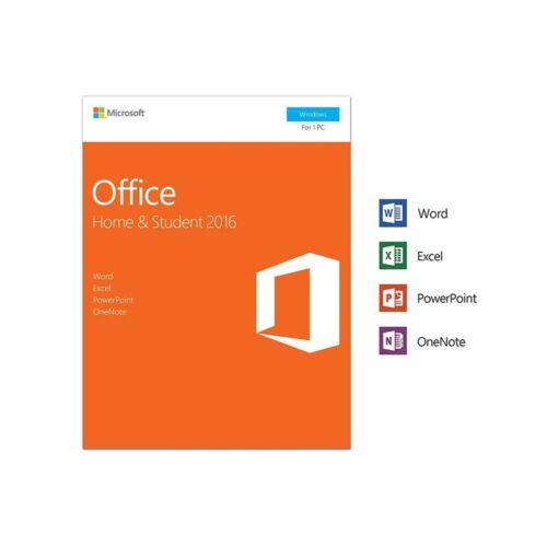 DOBOZOS VERZIÓ Microsoft Office 2016 Home & Student ÚJ LICENSZ (79G-04634)
