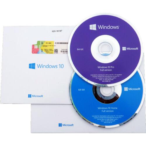 DOBOZ + MATRICA Windows 10 HOME OEM 32bit/64bit Csomag ÚJ LICENSZ (KW9-00135)