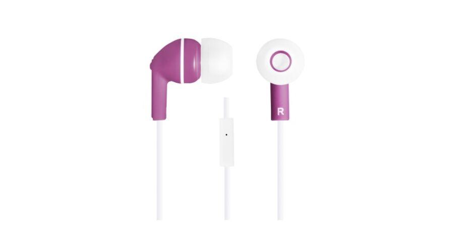 CANYON CNS-CEP03P mikrofonos fülhallgató lila (CNS-CEP03P ... 66a3acaa29